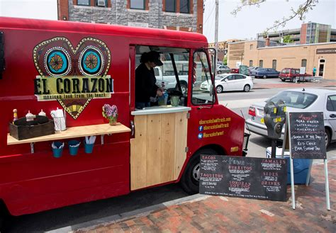 Dine at a Food Truck for Your Maine Course Meal - The