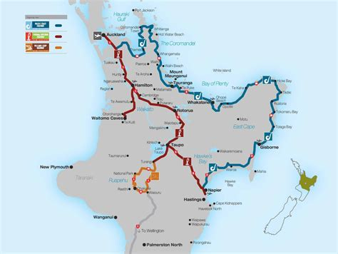 Itineraries   Explore Central North Island New Zealand