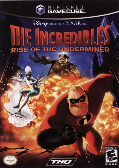 The Incredibles: Rise of the Underminer for GameCube (2005