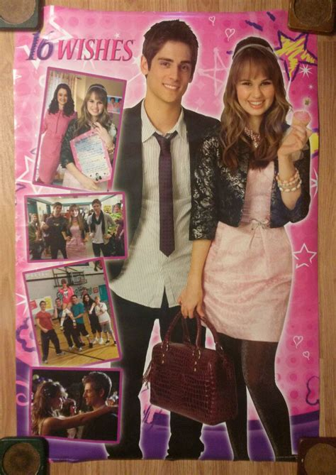 Teen Movie Poster 16 Wishes - Debby Ryan - Jean-Luc