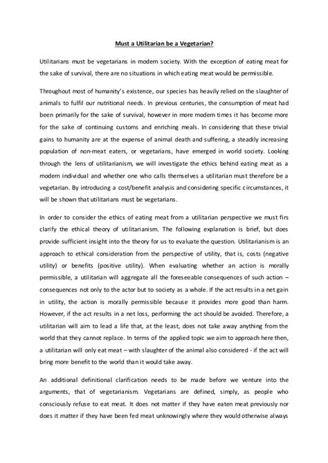 Applied Ethics Course Essay 2