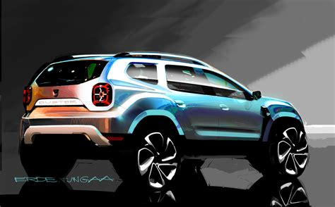 2017 Dacia Duster Pickup Rendering Looks like the Small
