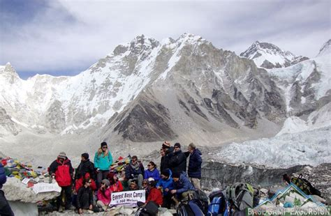 Gorak shep to Everest base camp distance, weather and