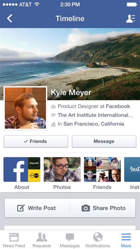 The New Facebook App for iOS 7 is Now Available for