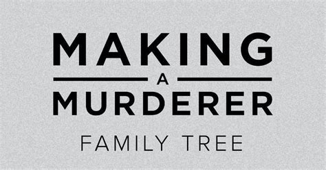 This 'Making A Murderer' Family Tree Infographic Will Help