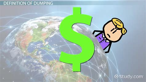 Dumping in Economics: Definition & Effects - Video