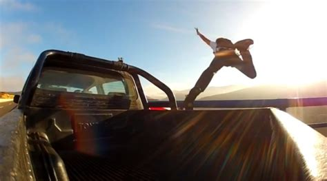 Man Jumps from Moving Car to End Arguing With His