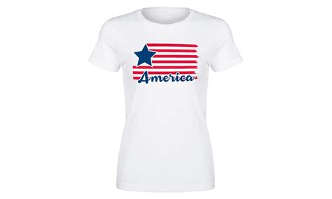 Women's US-Themed Tees   Groupon Goods
