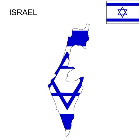 Israel Flag Map and Meaning | Mappr
