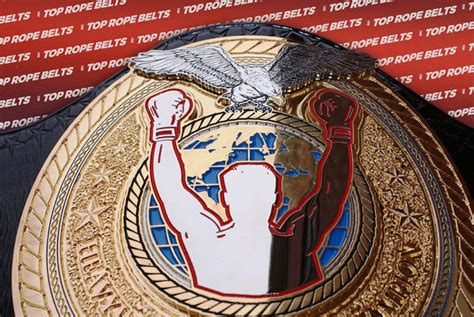TRB Heavyweight Boxing Title   Top Rope Belts