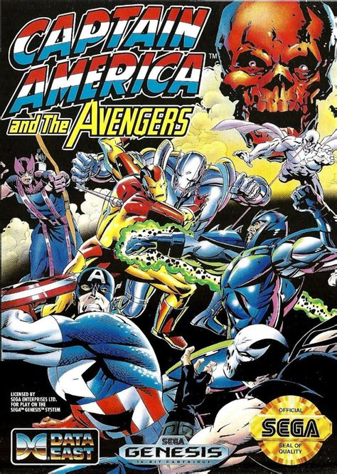 Captain America and the Avengers for Genesis (1992