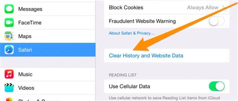 How to Clear History, Cache, and Cookies in Safari on