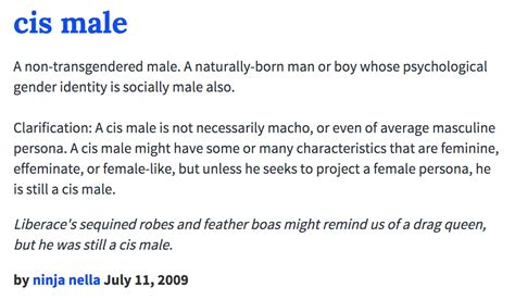 Urban Dictionary: Cis Male   White Cis Male   Know Your Meme