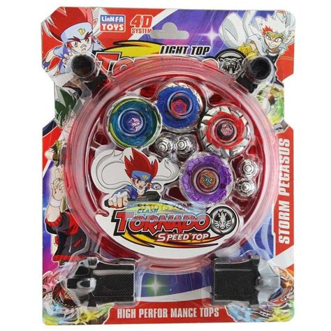 Beyblade Arena Spinning Top Toy with Launchers & Battle