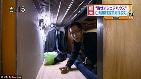 Living in a box: The tiny 'coffin' apartments of Tokyo