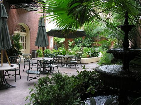 classic courtyard in the French Quarter   the Original