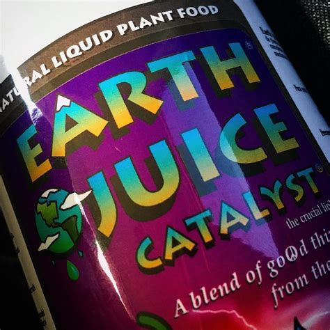 Earth Juice nutrient producer info - GrowDiaries