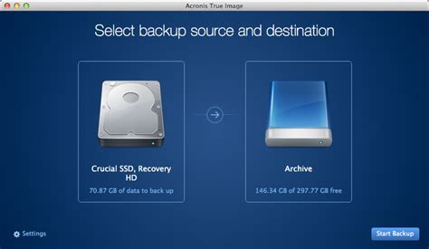 Acronis True Image for Mac launches, offers local and