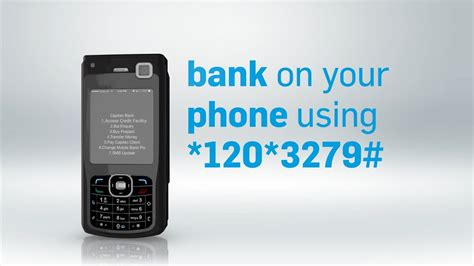 How to bank on a feature phone   Cellphone *120*3279