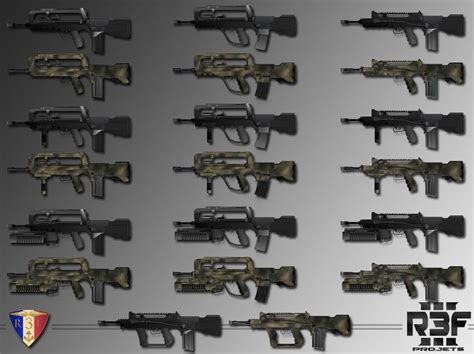 R3F French Weapons Pack - Weapons - Armaholic