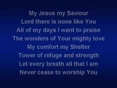 Shout To The Lord (worship video w/ lyrics) - YouTube