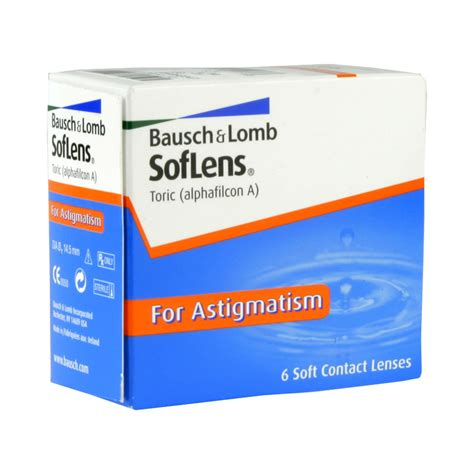 SofLens 66 Toric for Astigmatism Contact Lenses | DAILYCONS UK