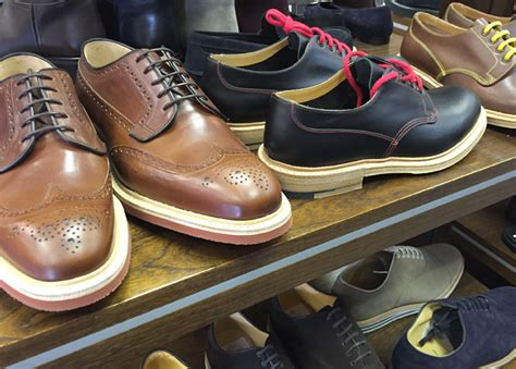 Visiting Church's shoe factory shop and celebrating