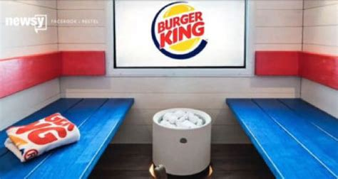 Burger King in Finland has a sauna | The Star