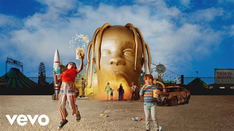 Travis Scott releases 'Astroworld' with contributions from