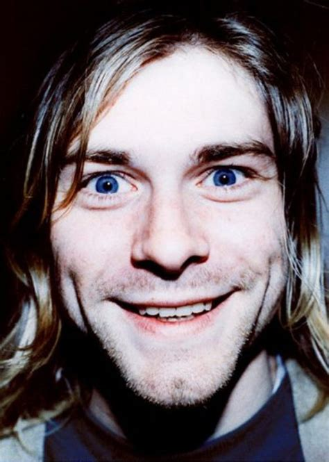 Pictures of Kurt Cobain Looking Happy ~ vintage everyday