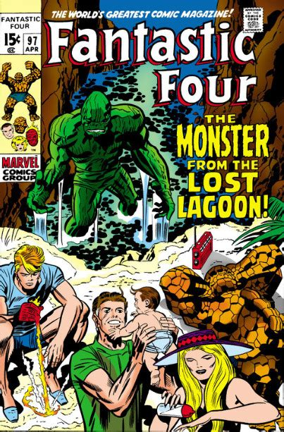 Fantastic Four #97 - The Monster From The Lost Lagoon (Issue)