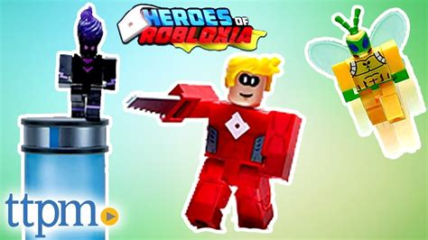 Roblox Heroes of Robloxia Toy from Jazwares - YouTube