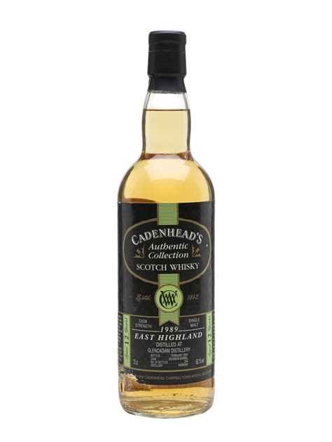 Glencadam 1989 - 12 Year Old - Authentic Collection Scotch