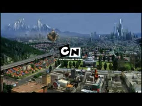 """Lost Cartoon Network """"City"""" Bumpers 