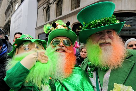 In pictures: St Patrick's day around the world   SBS News