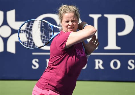 Kim Clijsters 'improving' ahead of second match in