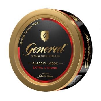 General Extra Strong Loose - Snus 4 Sale - World wide export