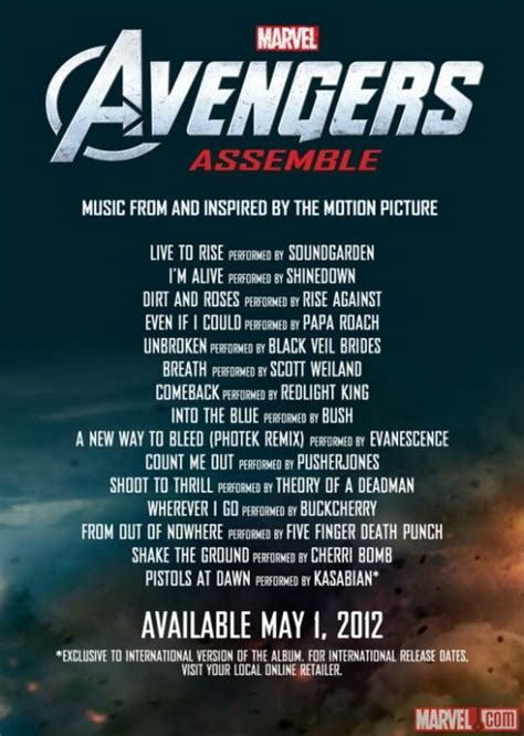Preview The New Soundgarden Song For 'The Avengers