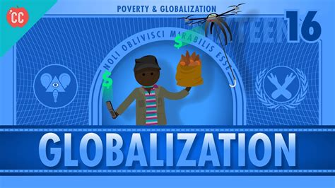 Globalization and Trade and Poverty: Crash Course