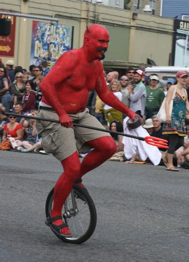 The annual Fremont Solstice Parade -- equipped with plenty