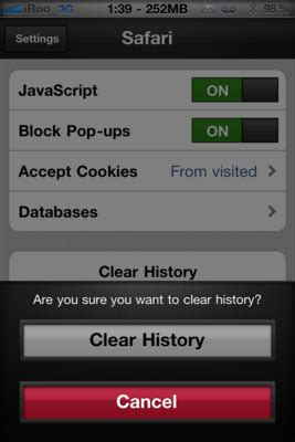 Daily Tip: How to clear your browsing history in Mobile