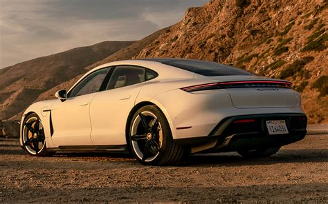2020 Porsche Taycan Turbo S (US) - Wallpapers and HD