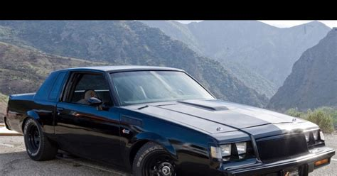'Fast & Furious': 1987 Buick GNX - Photos - 'Fast and