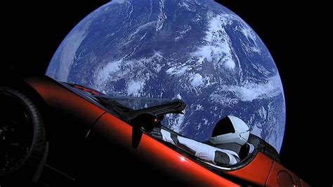 WATCH: Elon Musk launches Tesla Roadster into outer space