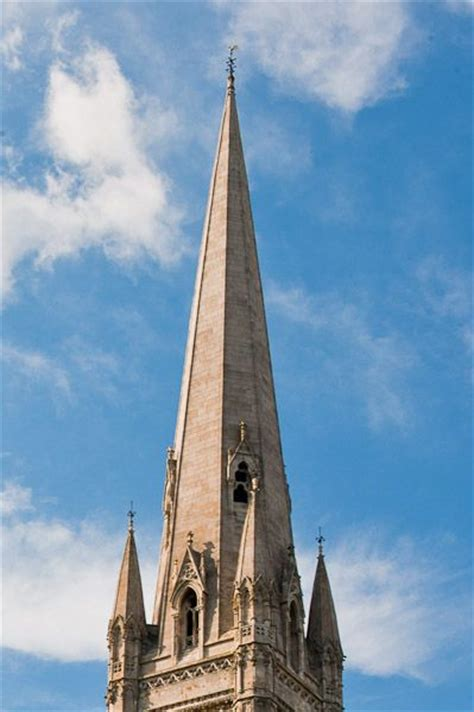 Spire definition, Illustrated Dictionary of British