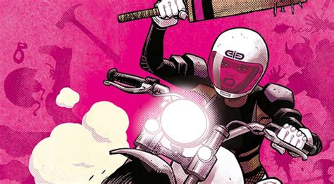 REVIEW: MOTOR CRUSH #1 is a Vivid Love Letter to Extreme